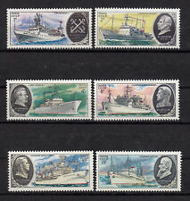 Russia - Soviet Union 1979 Mi.4906-4911 Research vessels MNH set   (83008
