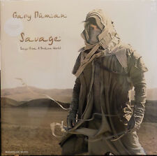 GARY NUMAN LP x 2 Savage - Songs From A Broken World + Download GFld + Promo Sht