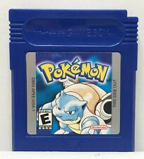 Game Boy Pokemon Blue Version Game Cartridge Only *Authentic* *New Save Battery*