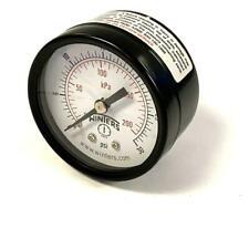 "Winters PEM1402 2"" Pressure Gauge 0-30 PSI 1/8"" NPT (2 Available)"