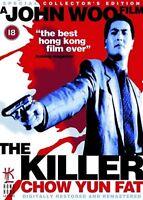THE KILLER DVD Yun-Fat Chow Danny Lee John WooThriller Movie Film UK Rele NEW R2