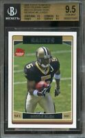 2006 topps team sets new orleans saints #no1a REGGIE BUSH rc BGS 9.5 9.5 9.5 9.5