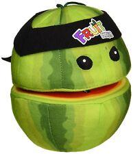 """New Fruit Ninja Half Watermelon Plush Stuffed Pretend Play 6"""" Toy Doll"""