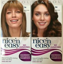 Clairol Nice'n Easy No Ammonia Demi-Permanent Hair Colour Lasts up to 24 Washes