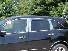 18Pc Stainless Steel Window Trim Package - Wp27297 For Acura Mdx 2007-2013