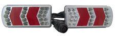 LED Anhänger Heckträger 6 Funktions Beleuchtungssatz Beleuchtung Rücklicht Kabel
