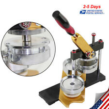 DIY Button Maker Badge Making Machine Round 58mm Die Mould High Quality US STOCK