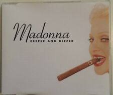 "MADONNA ""Deeper And Deeper"" Rare 1992 6Trk CD *5Remixes *Shep Pettibone"