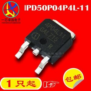 5PC IPD50P04P4L-11 4P04L11 50A/40V P TO-252