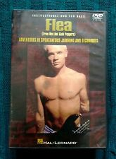 FLEA (FROM RED HOT CHILI PEEPERS) INSTRUCTIONAL DVD FOR BASS- R-ALL- LIKE NEW