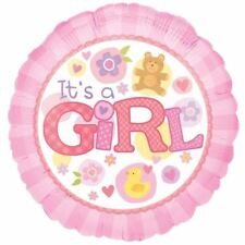 It's a Girl Pink Foil Balloon 45cm Arrival Baby Shower Party Decorations