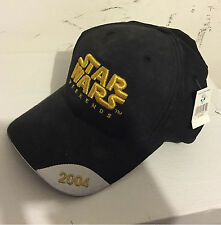Star Wars Disney Weekends 2004 Baseball cap Hat W/ tags (Brand NEW)