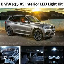 PREMIUM BMW F15 F85 X5 X5M 2013-2018 INTERIOR WHITE LED LIGHT BULB UPGRADE KIT