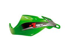 Coppia Paramani Racetech Gladiator Easy Verde Kawasaki Rtech Handguards Motard