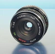 AICAR AUTO MC 2.8/28mm Lens objectif Objektiv für M42 - (41568)