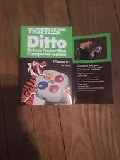 DITTO by Tiger Electronics 1982 RARE LED Handheld Game BRAND NEW