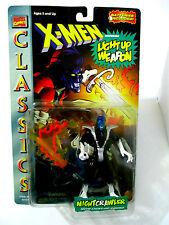 MARVEL COMICS Classics X-MEN Nightcrawler w/Light-Up Sword Toybiz 1996 MOC