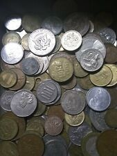 UNSEARCHED Foreign Coin Collection with SentrySafe