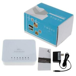 Unlocked 150Mbps 4G LTE CPE Mobile WiFi Wireless Router 2.4GHz WFi Hotspot For