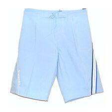 SPEEDO males piste junior short NATATION vêtement - Bleu Clair 66cm WT