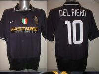 Juventus Del Piero Nike Adult XL Shirt Jersey Soccer Football Maglia Italy Top