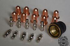 S45 S54 Part PD0116-08 PR0110 Trafimet Air Plasma Cutter Torch Consumables 21pcs