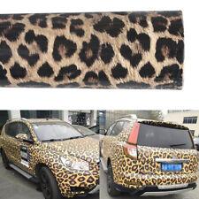 152 X 30cm Bubble Vinyl Wrap Leopard Print Car Decals Stickers Film Sheet