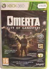 Omertà - City of Gangsters per XBOX 360 PAL - NUOVO