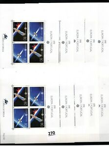 # 10X PORTUGAL - MNH - EUROPA CEPT 1991 - SPACE - SPACESHIPS - WHOLESALE