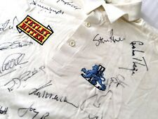 England Test Team 94/5 - One ONLY - Rare Signed Game Worn Jersey & Trading Cards