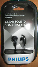 Brand New Philips Clear Sound In Ear Headphones (Earbuds) MP3 FREE Shipping!