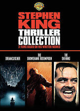 Stephen King Thriller Collection~New~3 Movies in Individual Slimline Cases