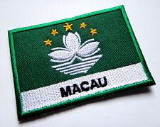 Ecusson drapeau patche patch drapeau MACAO Macau 70 x 45 mm Helmen en kleding Auto, motor: onderdelen, accessoires