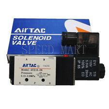 4V210-08 AC 110V Solenoid Electric Pneumatic Control Air Valve 5 Port 2 Position