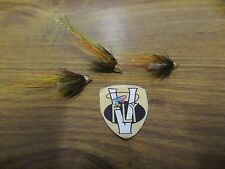 3 V Fly 1/4 Inch Alistair Cascade Cone Head Crimp Salmon Tube Flies & Trebles