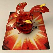 Bakugan Battle Brawlers Cyborg Helios Red Pyrus B2 680G Broken Tooth