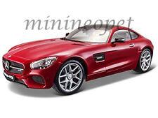 MAISTO 31134 MERCEDES BENZ AMG GT 1/24 DIECAST MODEL CAR RED