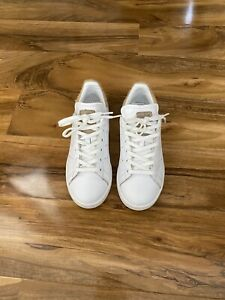 adidas stan smith white  pale nude  pony  trainers Uk Size 4.5