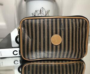 Vintage FENDI Penguin Clutch Bag Pouch Purse