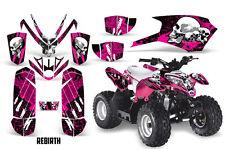 SIKSPAK Polaris Outlaw 50 Graphic Kit Wrap Quad Decal ATV All 08-14 REBIRTH PINK