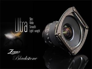 Zorro Blackstone : 100mm filter's holder for Ultra wide lens