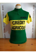 Maillot Ciclismo TEAM CREDIT AGRICOLE VENDEE 80s Maglia Cycling
