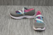**Skechers Spin N' Sparkle Mary Jane Flat - Little Girl's Size 1 - Grey NEW!!