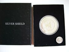 2014 Silver Shield Very Rare New Year's Trivium 5 oz. Silver Proof-See Photo's