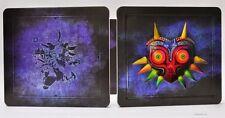 The Legend Of Zelda Majora's Mask Steelbook Case Nintento 3DS Game - Brand New