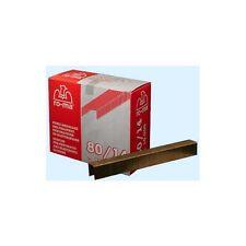 Punti per fissatrice  pneumatica 80/10 Romeo Maestri confezione 10mila pezzi