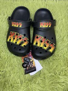 Crocs Crocband KISS Clog men's size 5M/ Wmns Sz7 RARE