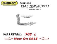 Suzuki GSXR1000 2009 09 2010 10 2011 11 ARROW EXHAUST header 4 1 2