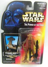 Star Wars POTF2 Red Card Monmaw Hadon ( Hammerhead )