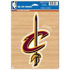 "CLEVELAND CAVALIERS LOGO 6""x9"" DIE CUT MAGNET BRAND NEW FREE SHIPPING WINCRAFT"